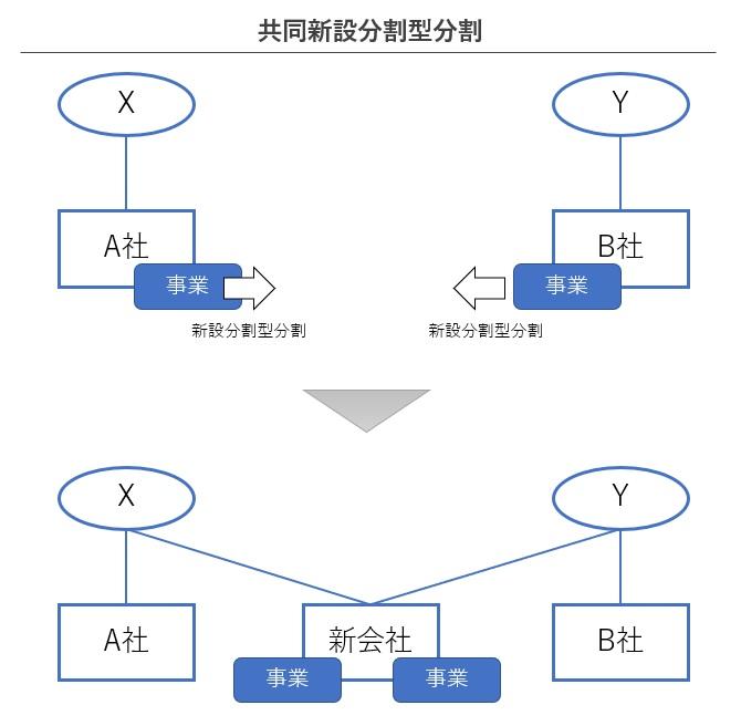 共同新設分割型分割